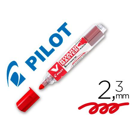 Rotulador Pilot Vboard Master rojo