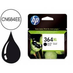 Cartucho HP 364XL color negro CN684EE