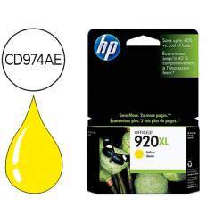 Cartucho HP 920XL Amarillo CD974AE