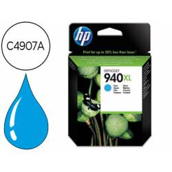 Cartucho HP 940XL Cian C4907A