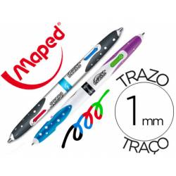 Bolígrafo Twin tip marca Maped trazo 1mm