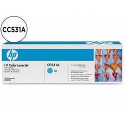 Toner HP 304A CC531A color Cian