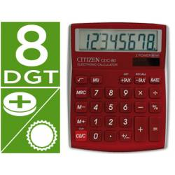 Calculadora Sobremesa Citizen CDC-80RDWB 8 digitos
