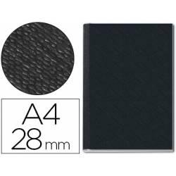 Tapa de Encuadernación Cartón Leitz A4 Negra 280 hojas