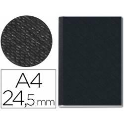 Tapa de Encuadernación Cartón Leitz A4 Negra 245 hojas
