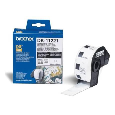 Etiqueta impresora Brother blanca DK-11221