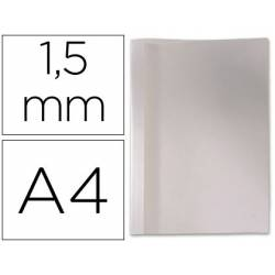 Carpeta termica GBC Pvc y cartulina color blanco 1,5 mm pack 100 unidades
