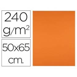 Cartulina Liderpapel naranja 240 g/m2