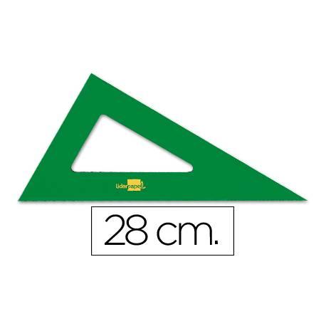 Cartabon acrilico Liderpapel 28 cm