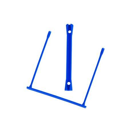 Fastener encuadernador Q-Connect color azul, plastico