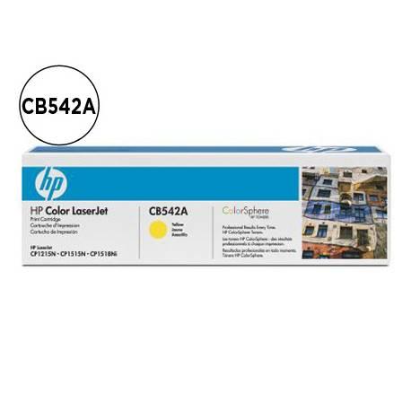 Toner HP 125A CB542A color Amarillo