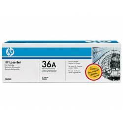 Toner HP 36A CB436A color Negro