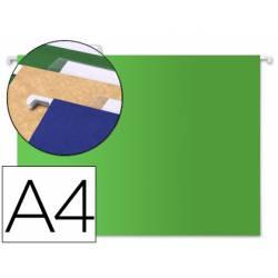 Carpeta colgante Liderpapel A4 Kraft Verde