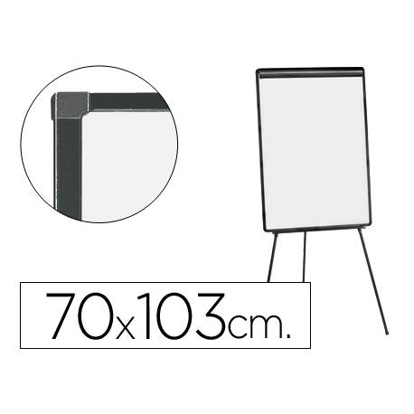 Pizarra Blanca laminada Tripode 70x103 Q-Connect
