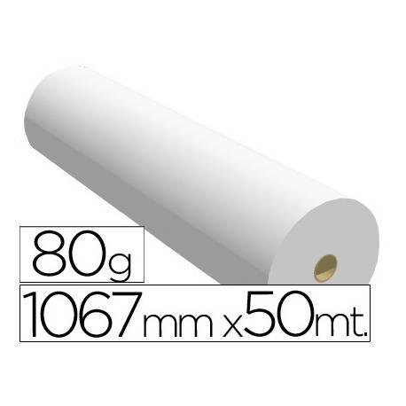 Papel reprografia opaco plotter Navigator 80 g/m2, 1067 mm x 50 m