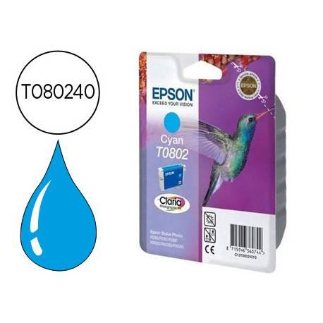 Cartucho Epson T080240 Cian