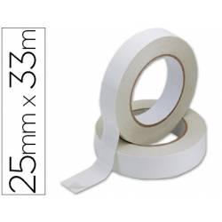 Cinta adhesiva doble cara Q-Connect 33 mt x 25 mm