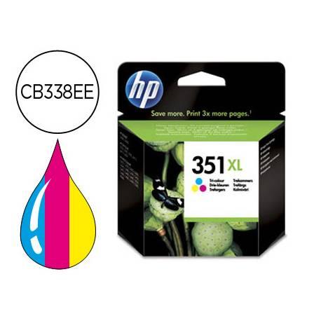 Cartucho HP 351XL Tricolor CB338EE