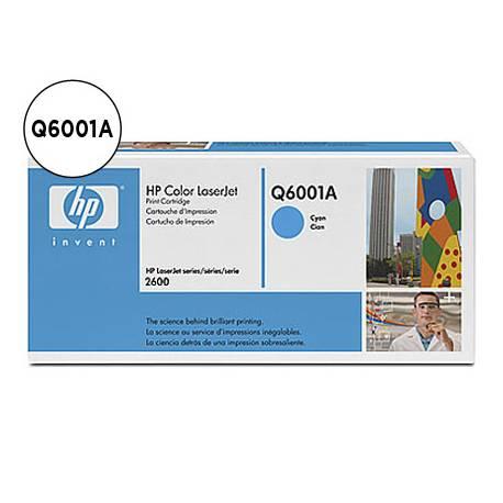 Toner HP 124A Q6001A Cian
