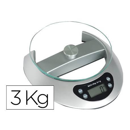 Pesacartas oficina 3 kg Q-Connect