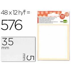 Etiquetas Adhesivas marca Liderpapel Obsequio 5 x 35 mm