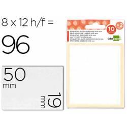 Etiquetas Adhesivas marca Liderpapel Obsequio 19 x 50 mm