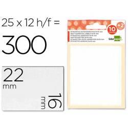 Etiquetas Adhesivas Liderpapel Obsequio 16 x 22 mm