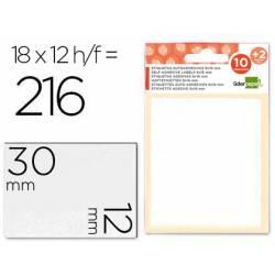 Etiquetas Adhesivas Liderpapel Obsequio 12 x 30 mm