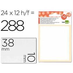 Etiquetas Adhesivas Liderpapel Obsequio 10x 38 mm