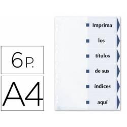 Separadores de cartulina imprimibles Avery A4 Juego de 6