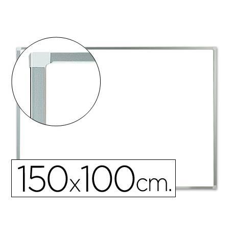 Pizarra Blanca laminada marco de aluminio 150x100 Q-Connect