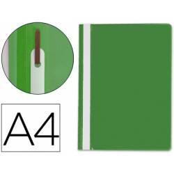 Carpeta dossier fastener Q-Connect Din A4 verde