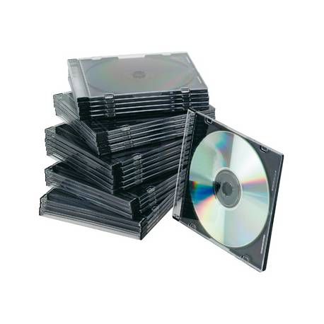 Caja CD/DVD Slim Q-Connect
