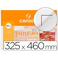 Papel Basik dibujo Canson din A3+ con recuadro 130 g/m2