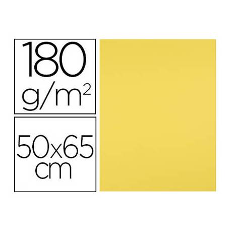 Cartulina Liderpapel 180 g/m2 Amarillo limon