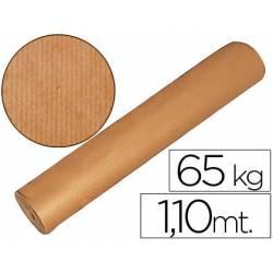 Bobina papel kraft 1.10m x 700m 65 kg marron