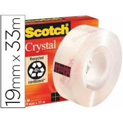 Cinta adhesiva Scotch super transparente