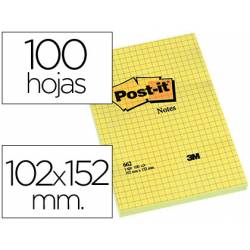 Post-it ® Bloc quita y pon grandes