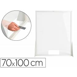 PANTALLA DE PROTECCION Q-CONNECT CARTON VERTICAL 70X100 CM