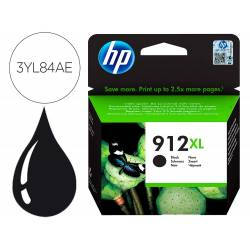 INK-JET HP 912 XL OFFICEJET 8010 / 8020 / 8035 COLOR NEGRO 825 PAG