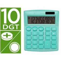 Calculadora sobremesa Citizen SDC-810 NRGNE 10 dígitos Verde