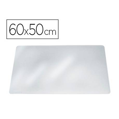 Vade de sobremesa Durable Transparente Plastico 65x50 cm