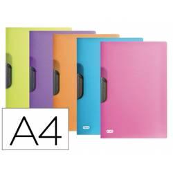 Carpeta dossier con pinza central Elba 30 hojas DIN A4 Colores Surtidos