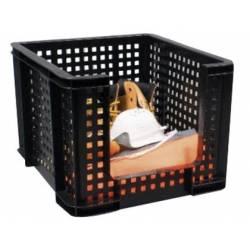 Caja de almacenaje Archivo 2000 35L Negro