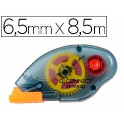 Pegamento Roller Q-Connect Compacto Permanente 6,5x8,5 mm