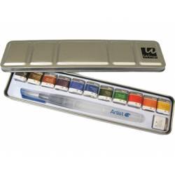 Acuarela Wingo Artist Start Estuche 12 Colores Surtidos + Pincel rellenable