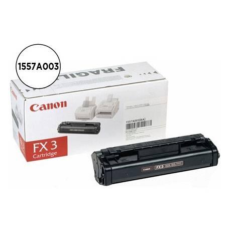 Tóner Canon 1557A003 Nº FX-3 Negro