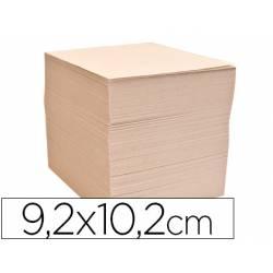 Taco papel reciclado 70 grs. -92x102-sin encolar-1000 hoj.-
