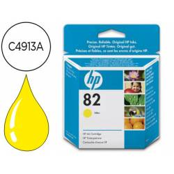 Cartucho HP 82 Amarillo C4913A