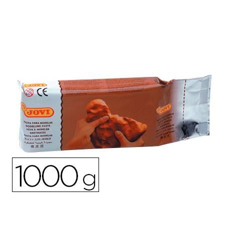Pasta Jovi para modelar 1000 g terracota